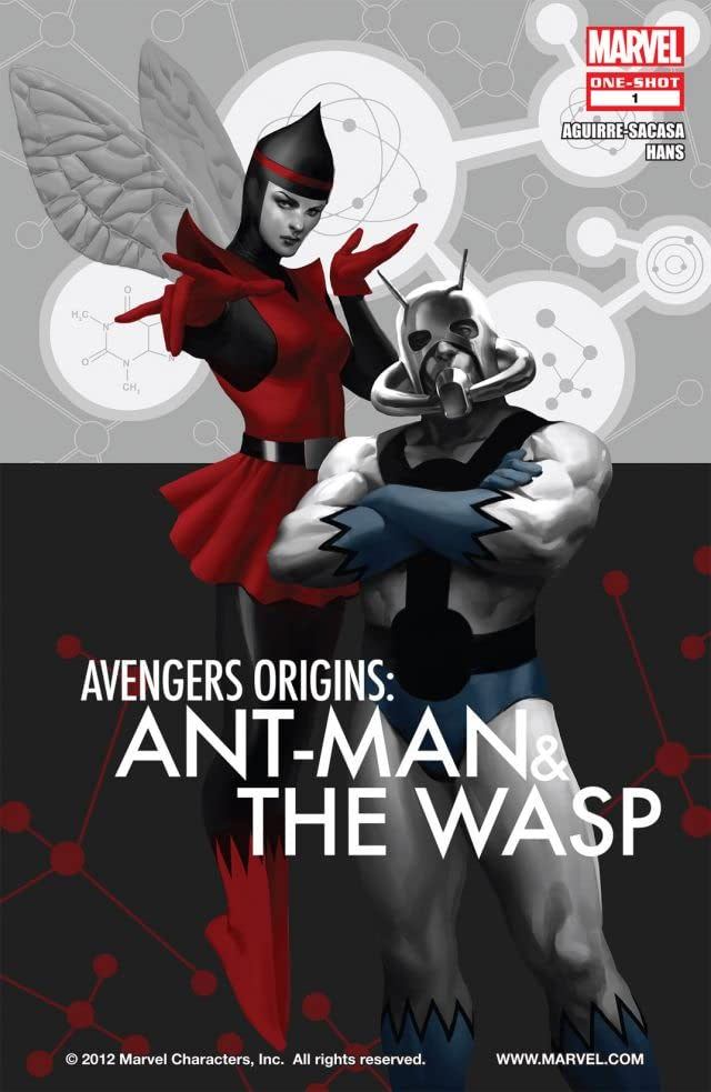 Avengers Origins: Ant-Man and the Wasp #1