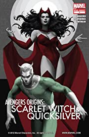 Avengers Origins: Quicksilver and the Scarlet Witch #1