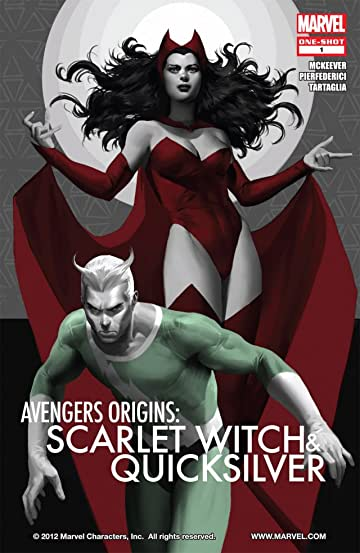 Avengers Origins Quicksilver and the Scarlet Witch 1  Marvel Comics
