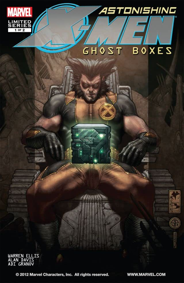 Astonishing X-Men: Ghost Boxes No.1 (sur 2)