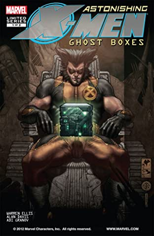 Astonishing X-Men: Ghost Boxes #1 (of 2)