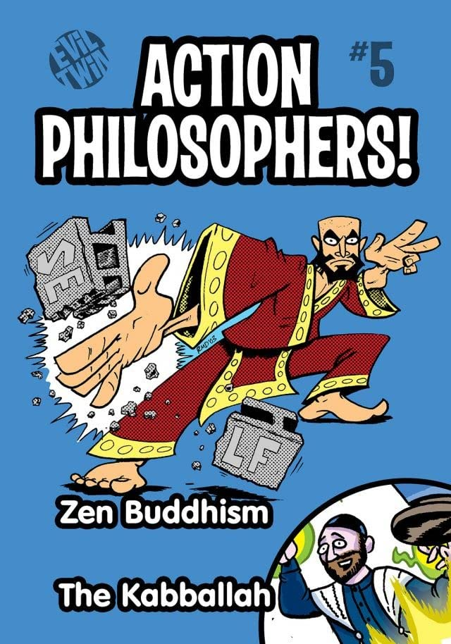 Action Philosophers #5: Zen & The Kabballah!