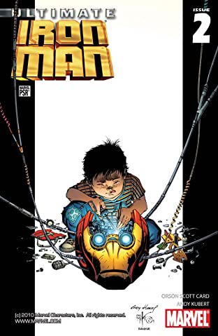 Ultimate Iron Man #2 (of 5)