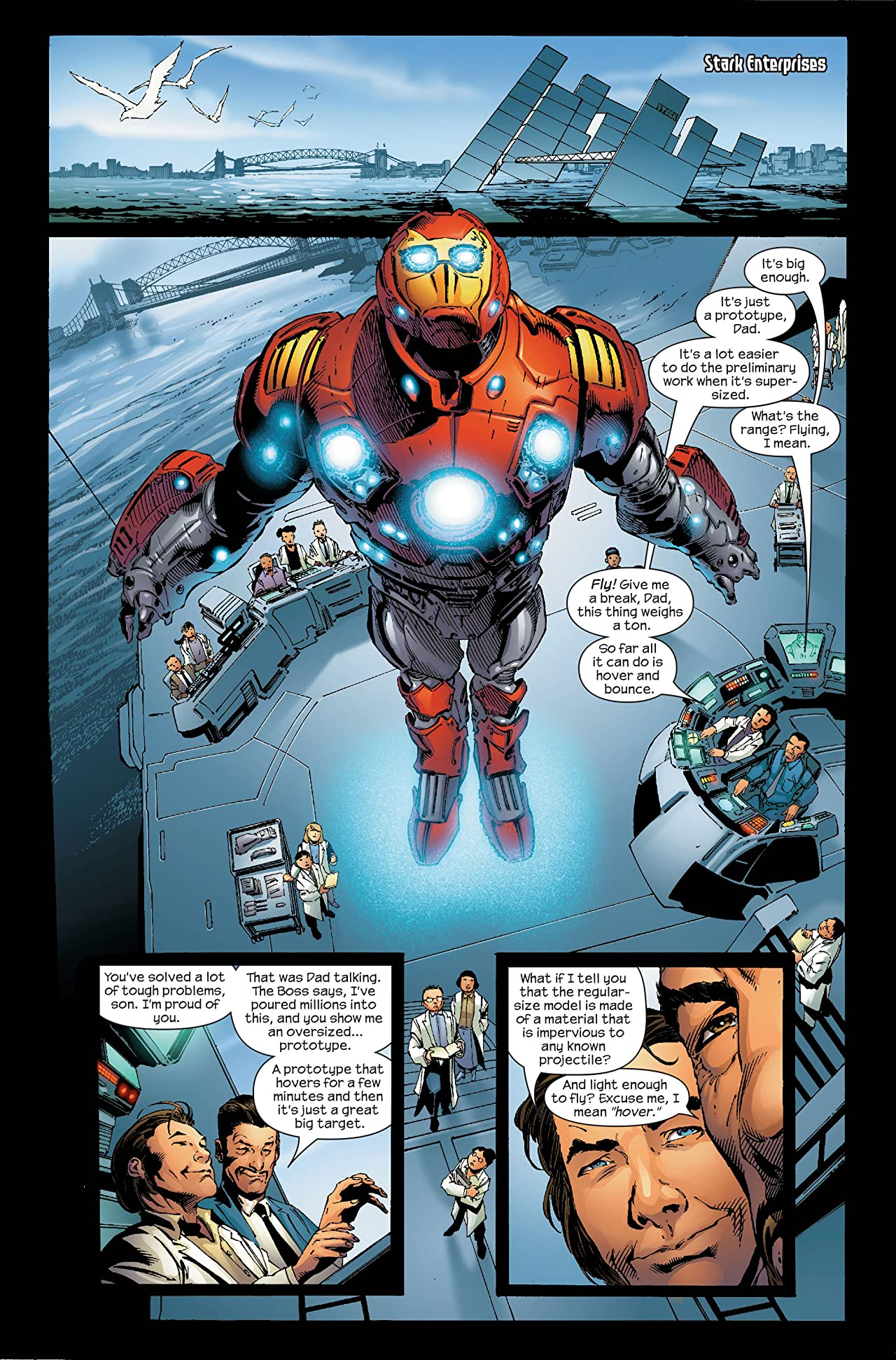 Ultimate Iron Man #5 (of 5)