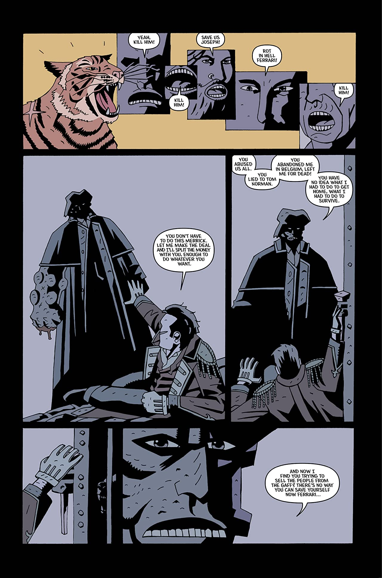 Merrick: The Sensational Elephantman #4