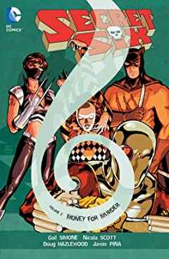 Secret Six (2008-2011) Vol. 2: Money and Murder