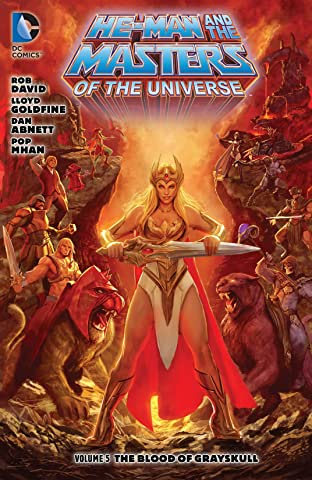 He-Man and the Masters of the Universe (2013-2014) Tome 5: The Blood of Greyskull