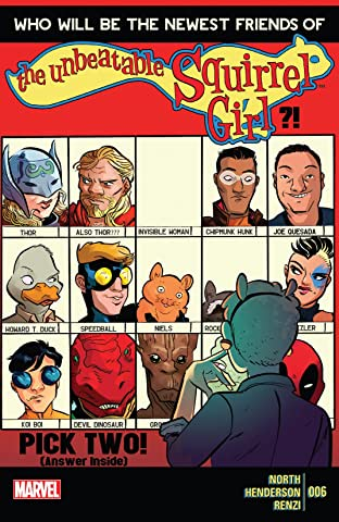 The Unbeatable Squirrel Girl (2015) No.6