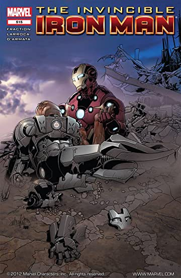 Invincible Iron Man (2008-2012) #515