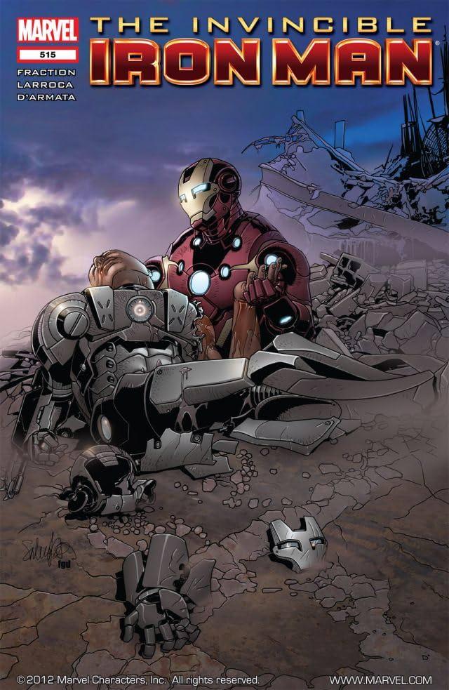 Invincible Iron Man (2008-2012) #515