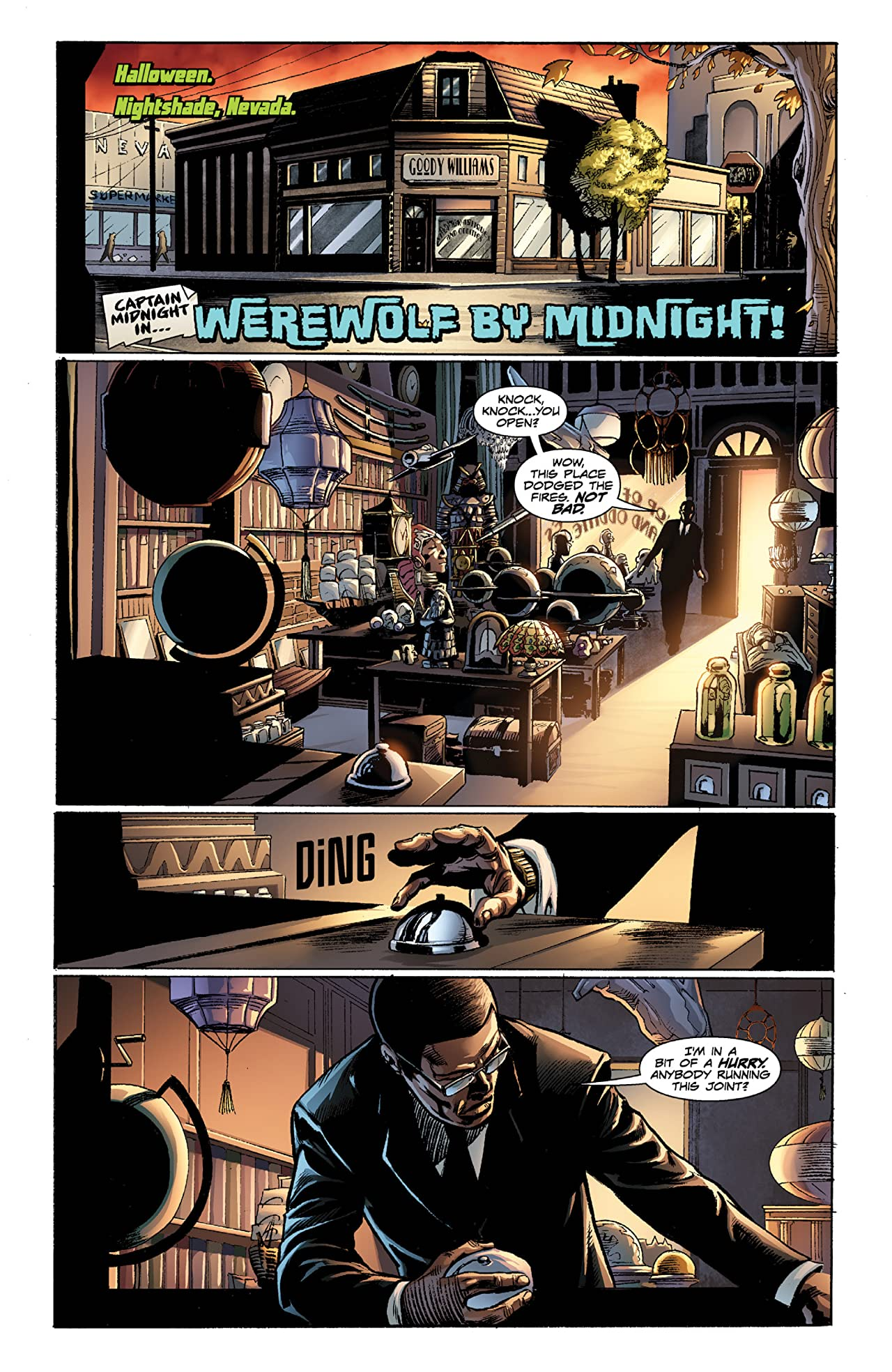 Captain Midnight Vol. 5: Lost Time