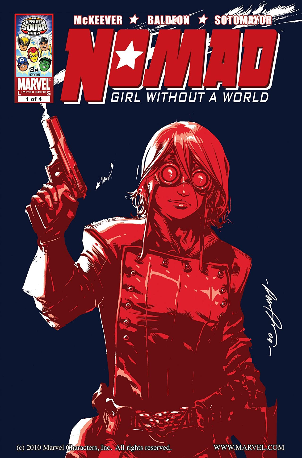 Nomad: Girl Without A World #1 (of 4)