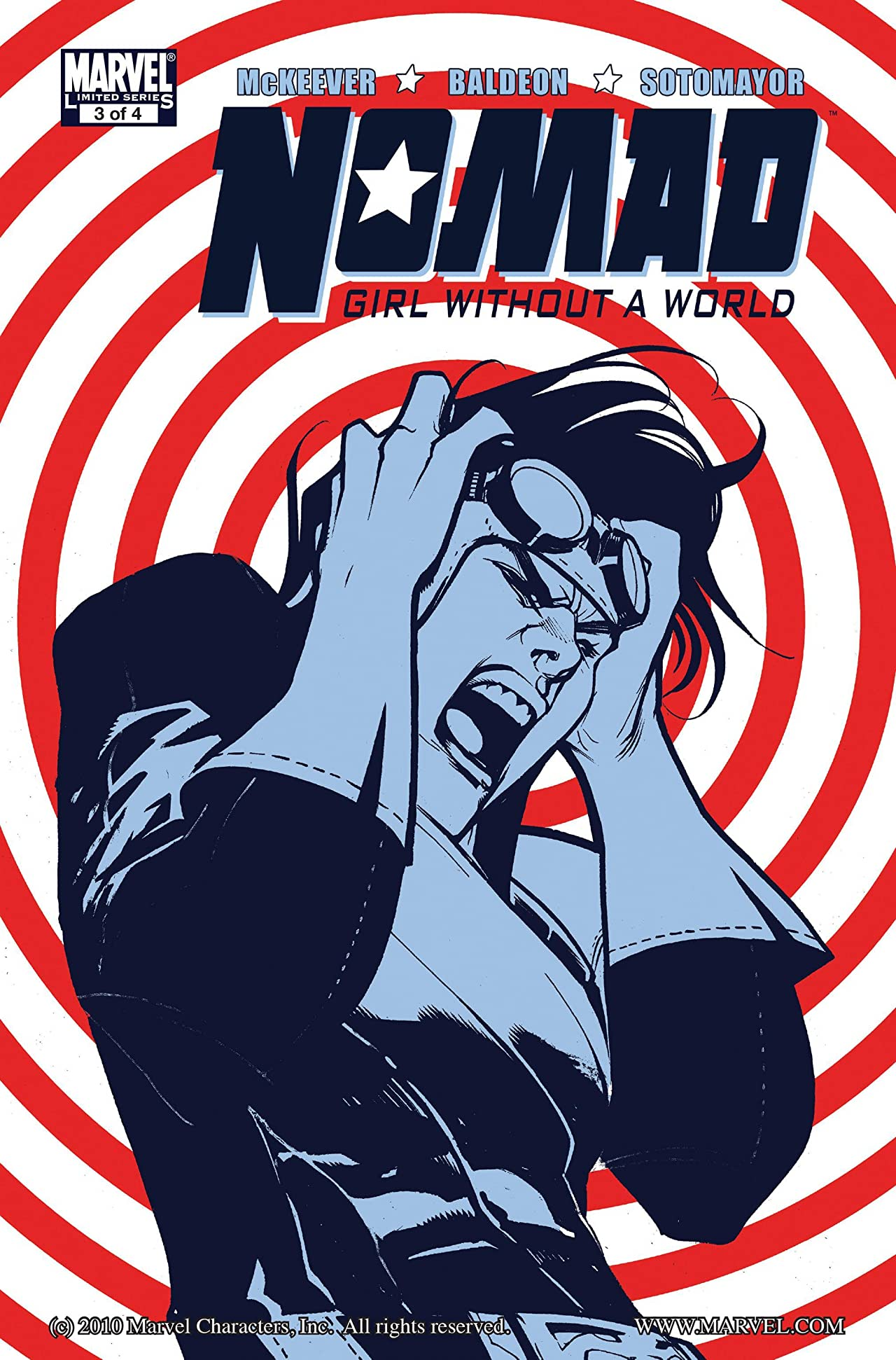 Nomad: Girl Without A World #3 (of 4)