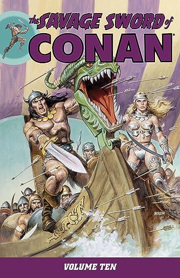 The Savage Sword of Conan Vol. 10