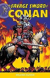 The Savage Sword of Conan Vol. 11