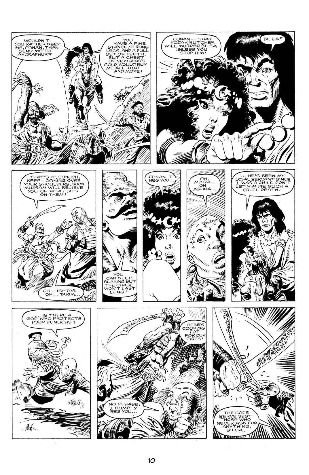 The Savage Sword of Conan Vol. 13