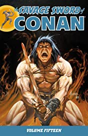 The Savage Sword of Conan Vol. 15