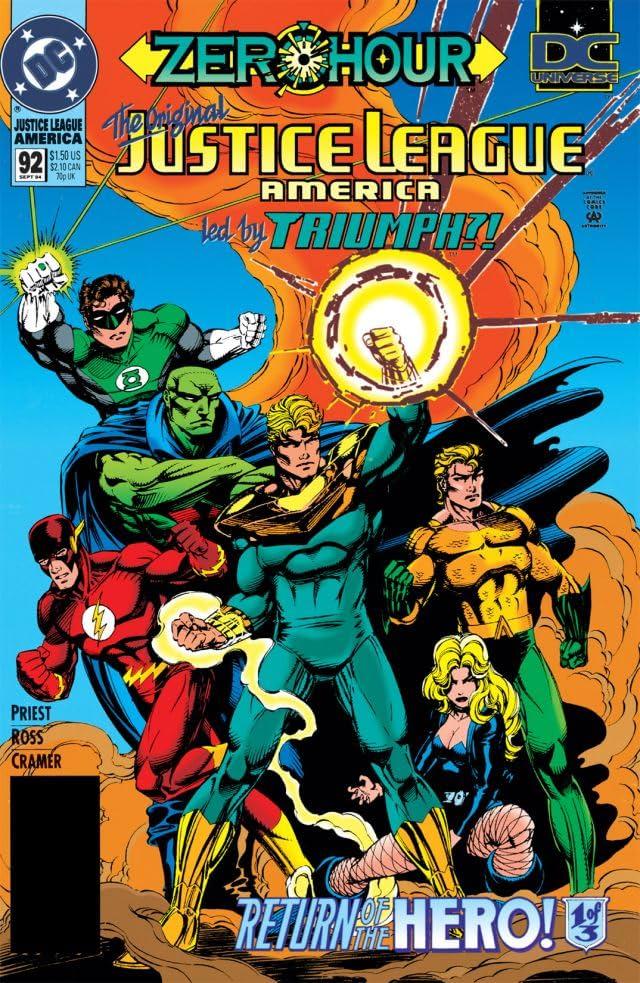 Justice League America (1987-1996) #92
