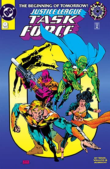Justice League Task Force (1993-1996) #0