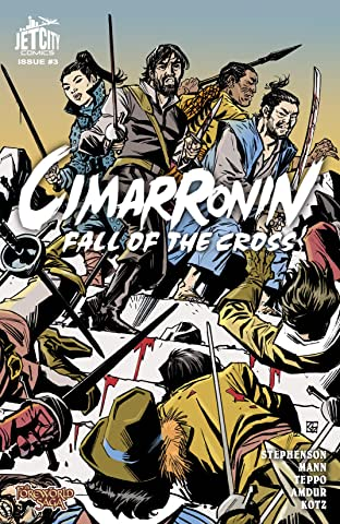 Cimarronin: Fall of the Cross #3