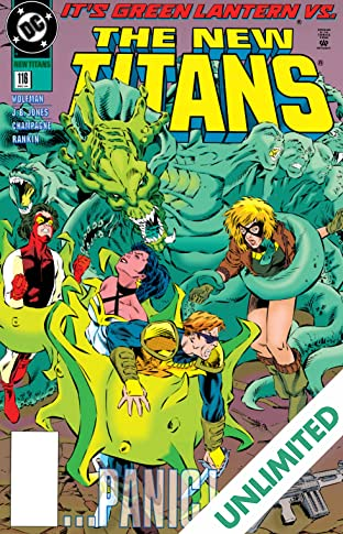 The New Titans (1984-1996) #116