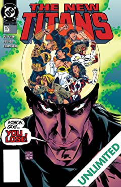 The New Titans (1984-1996) #117