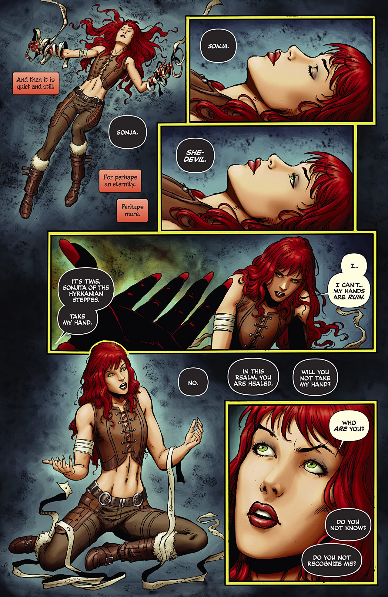 Red Sonja #16: Digital Exclusive Edition