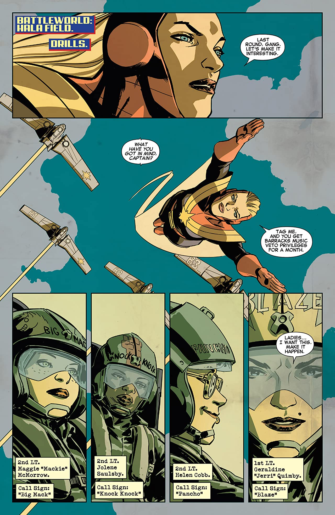 Captain Marvel and the Carol Corps (2015) #1