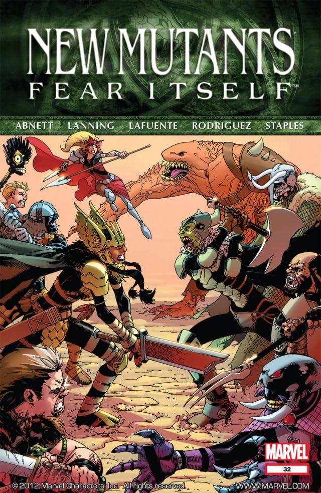 New Mutants (2009-2011) #32