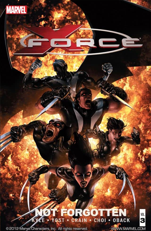 X-Force Vol. 3: Not Forgotten