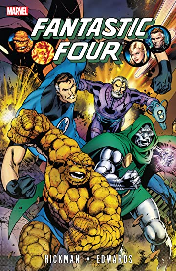 Fantastic Four By Jonathan Hickman Tome 3