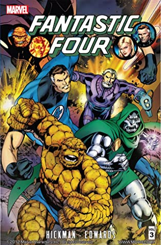 Fantastic Four By Jonathan Hickman Vol. 3