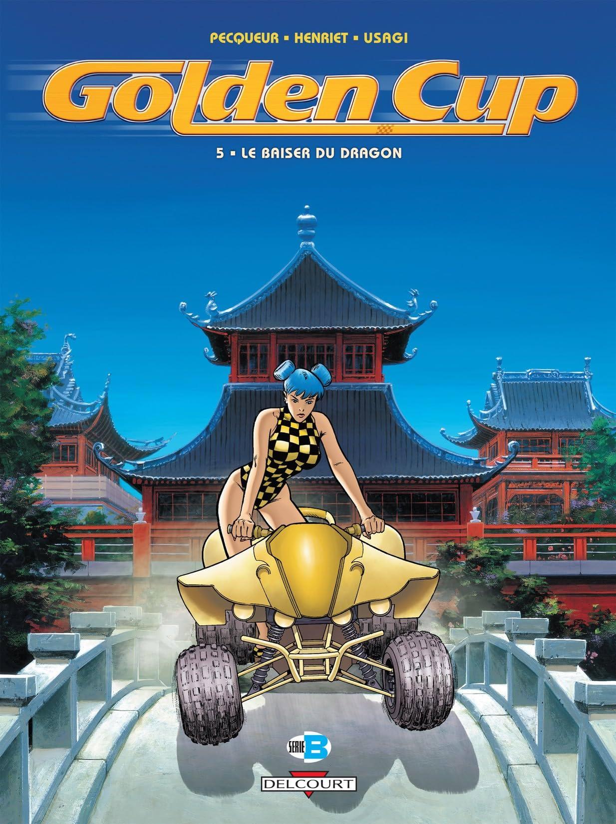 Golden Cup Vol. 5: Le Baiser du dragon