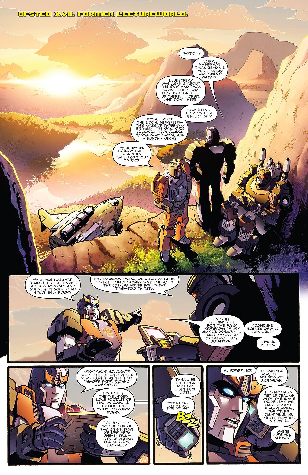 Transformers: More Than Meets the Eye (2011-2016) Vol. 7