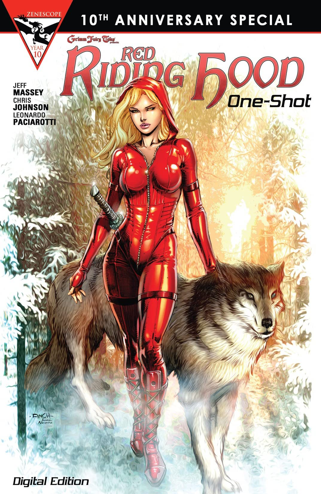 Grimm Fairy Tales 10th Anniversary One Shot - Red Riding Hood