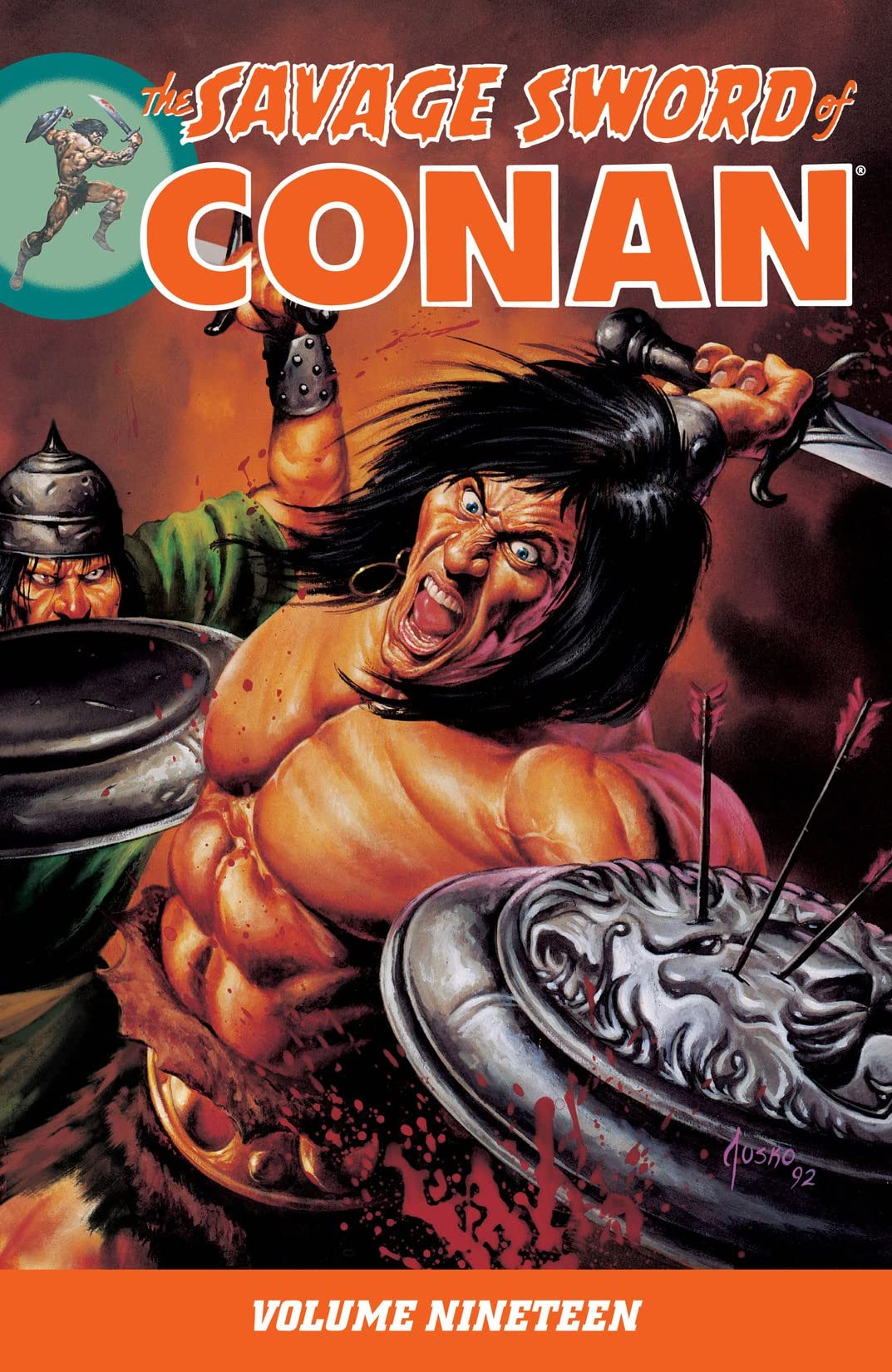 The Savage Sword of Conan Vol. 19