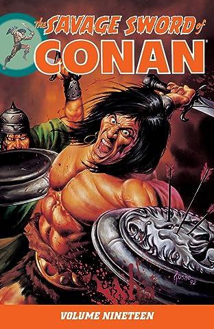 The Savage Sword of Conan Vol. 19