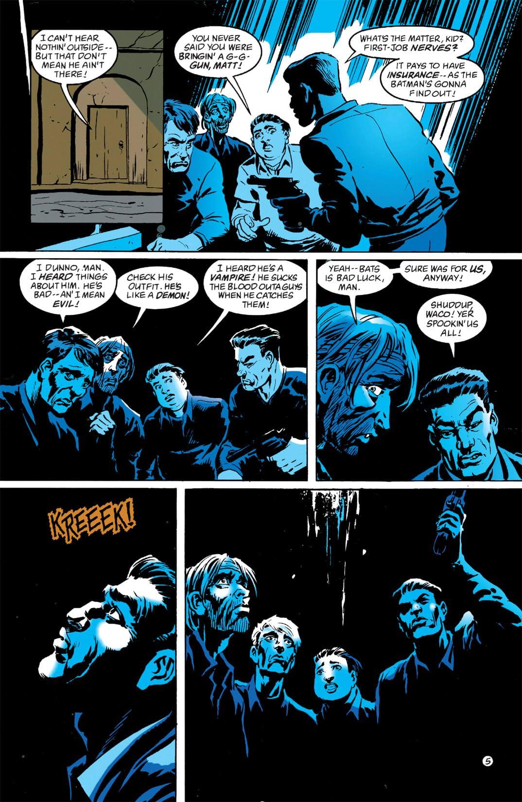 Batman: Shadow of the Bat #0