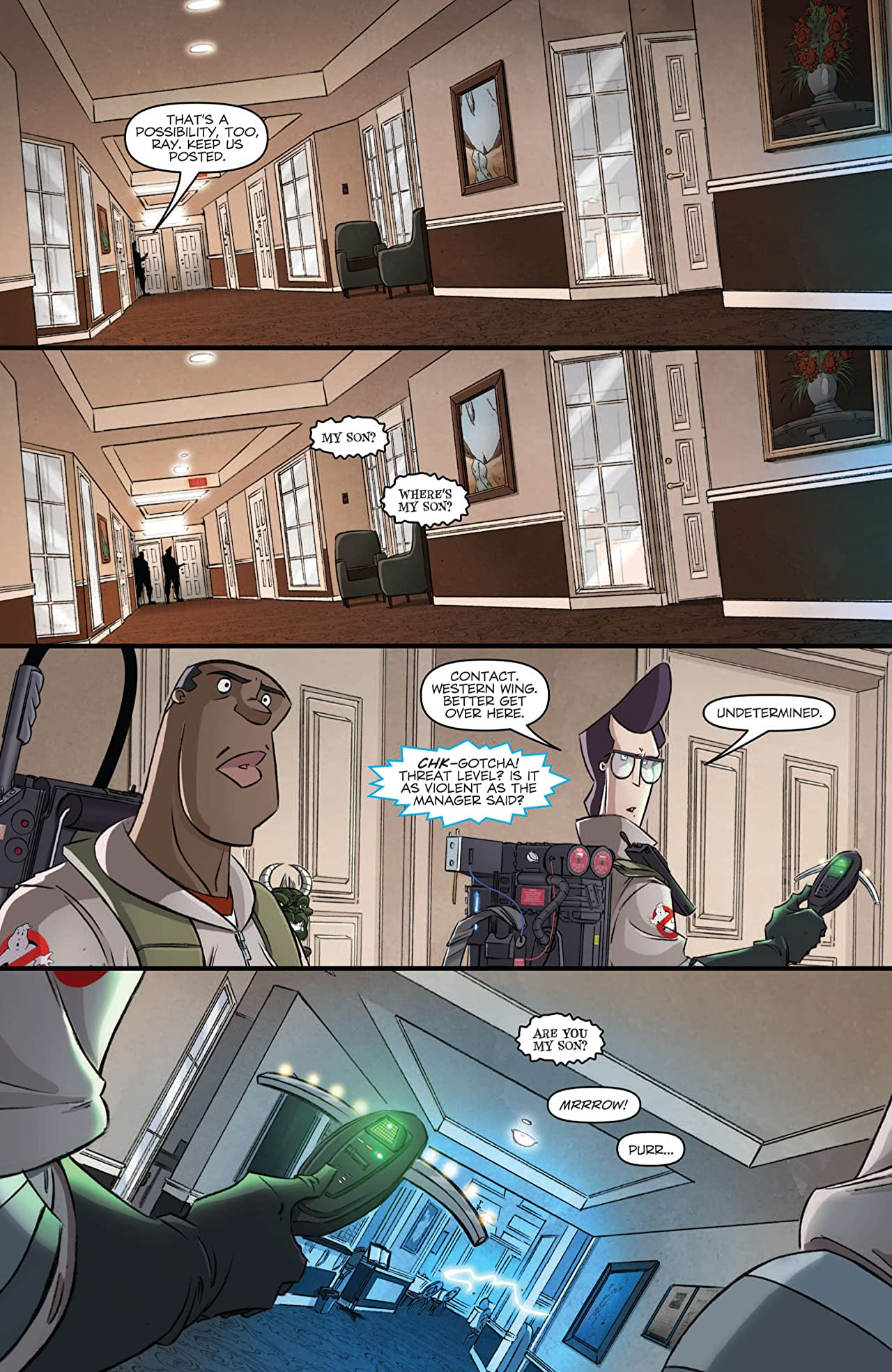 Ghostbusters (2011-2012) #8