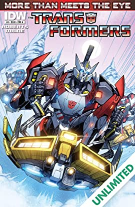 Transformers: More Than Meets the Eye (2011-2016) #4
