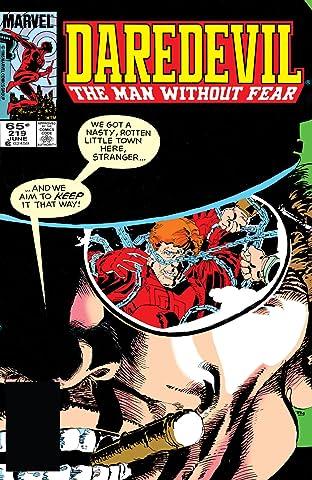 Daredevil (1964-1998) #219