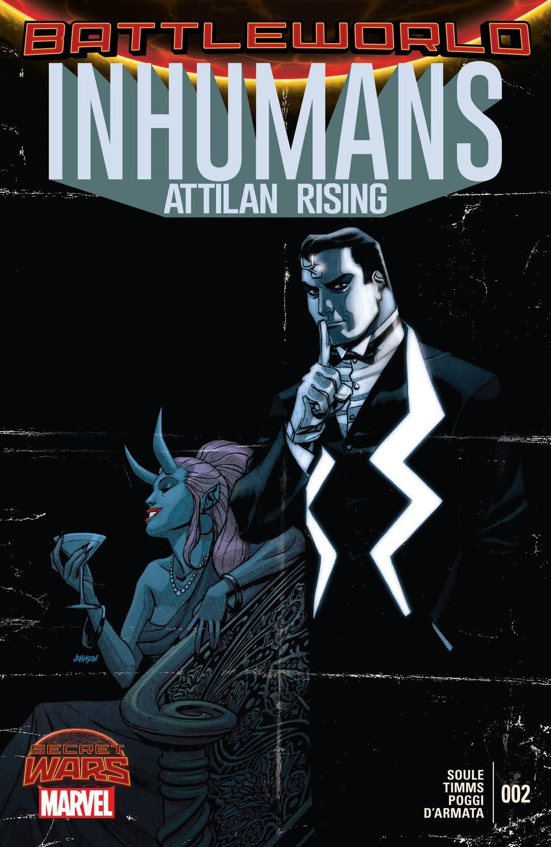 Inhumans: Attilan Rising (2015) #2