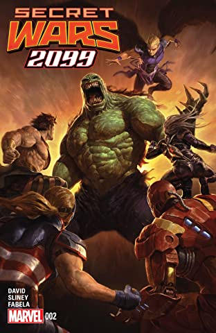 Secret Wars 2099 (2015) #2 (of 5)