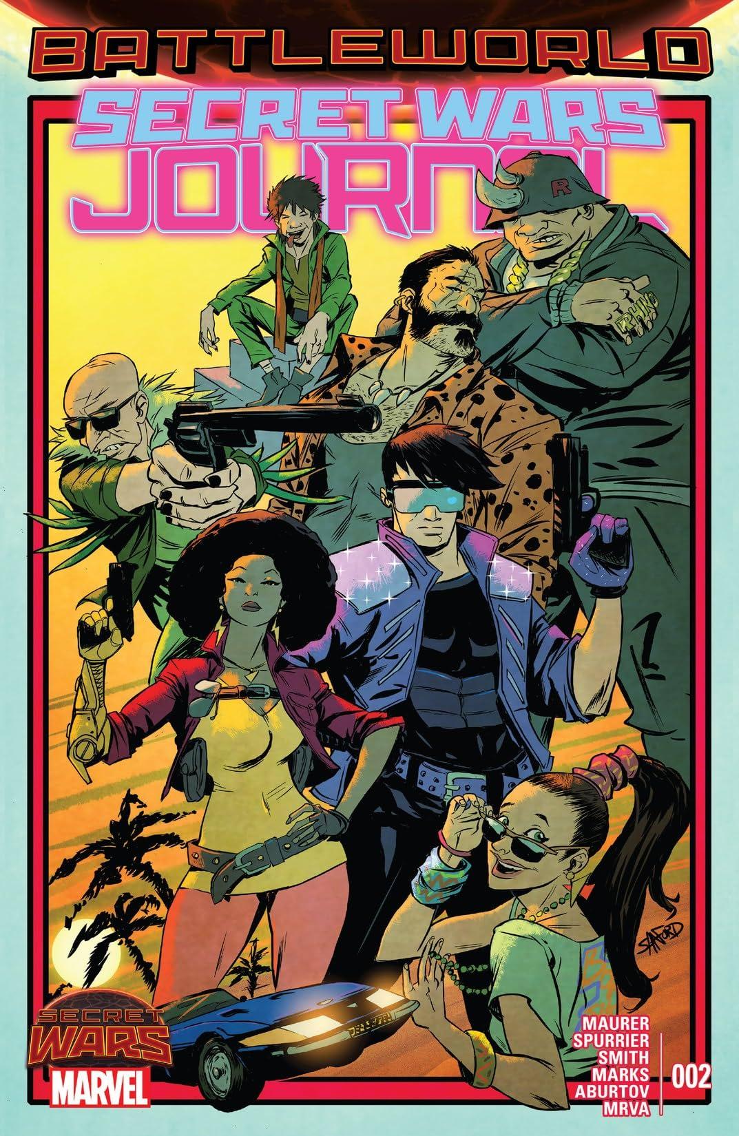 Secret Wars Journal (2015) #2 (of 5)