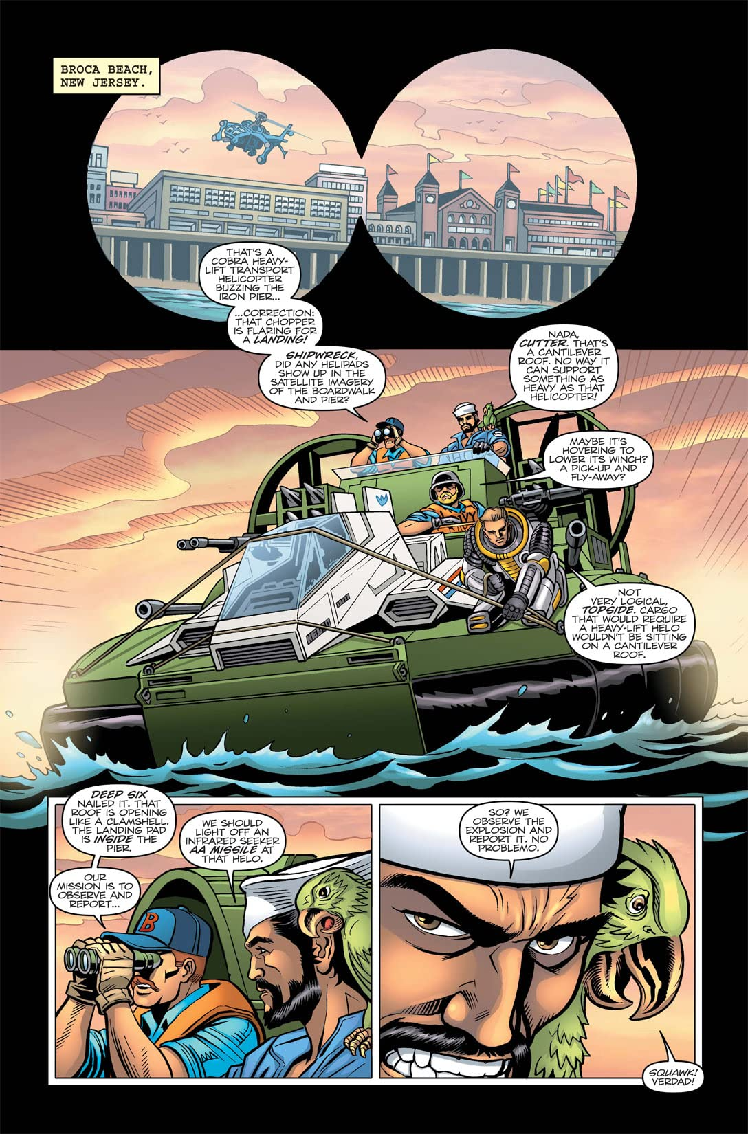 G.I. Joe: A Real American Hero Tome 3