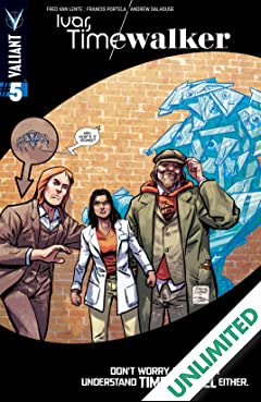 Ivar, Timewalker #5: Digital Exclusives Edition