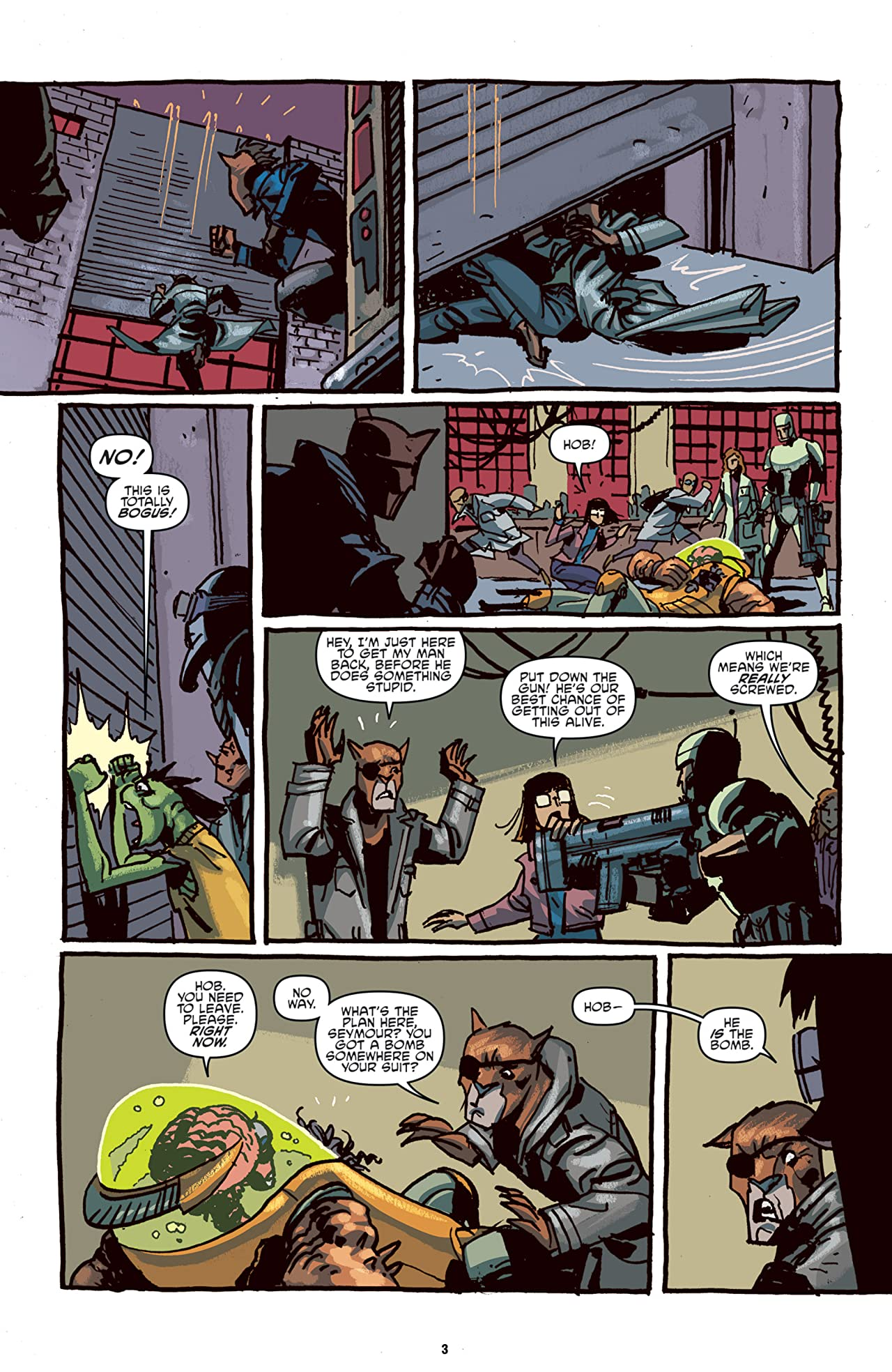 Teenage Mutant Ninja Turtles: Mutanimals #4 (of 4)