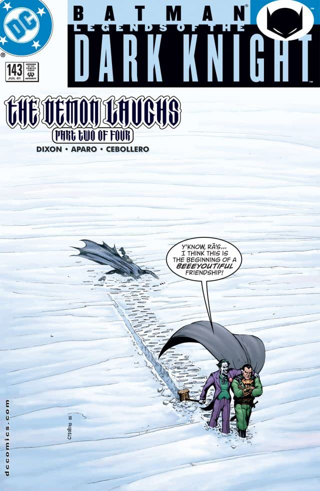 Batman: Legends of the Dark Knight #143