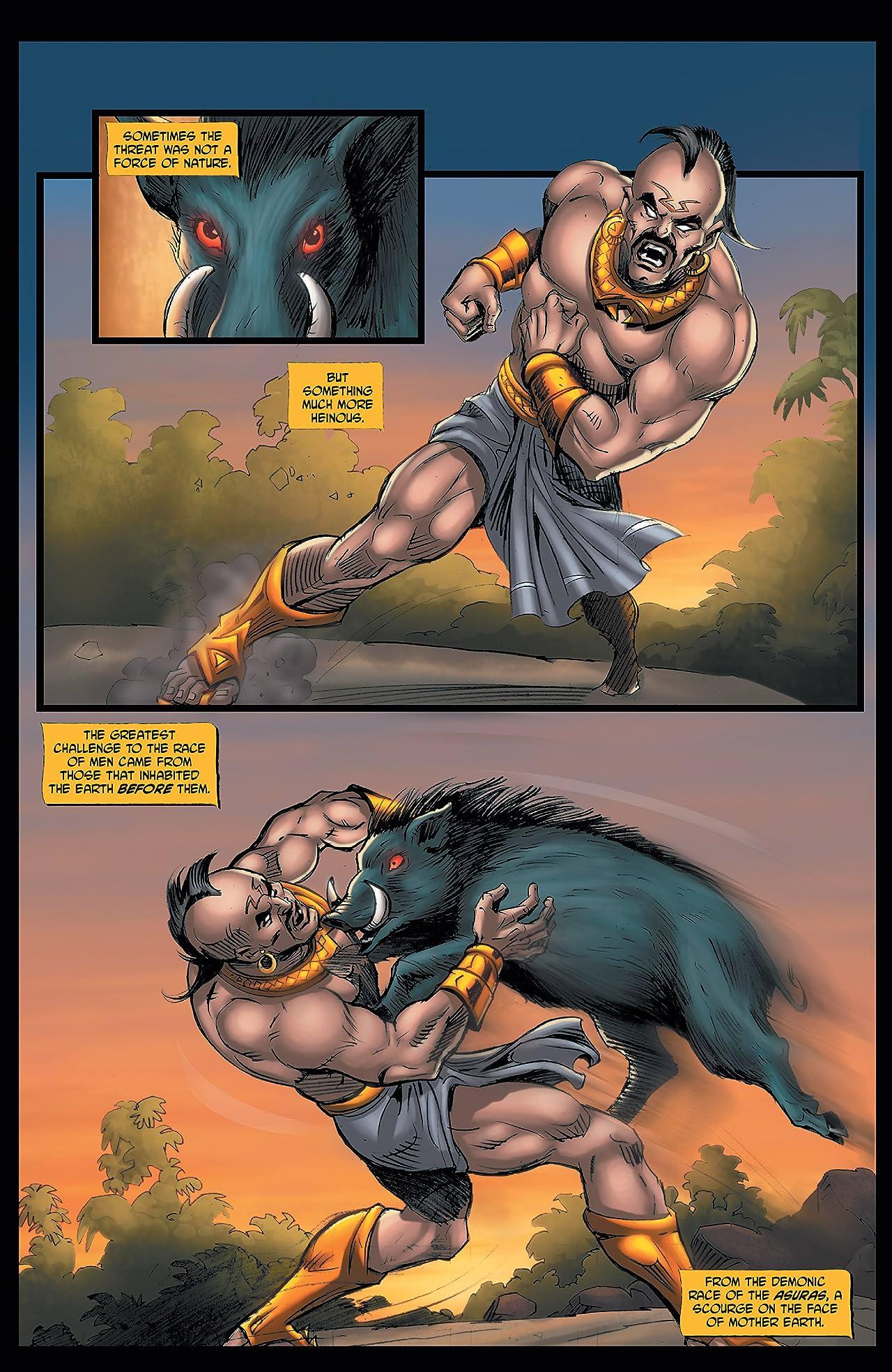 Myths of India: Vishnu