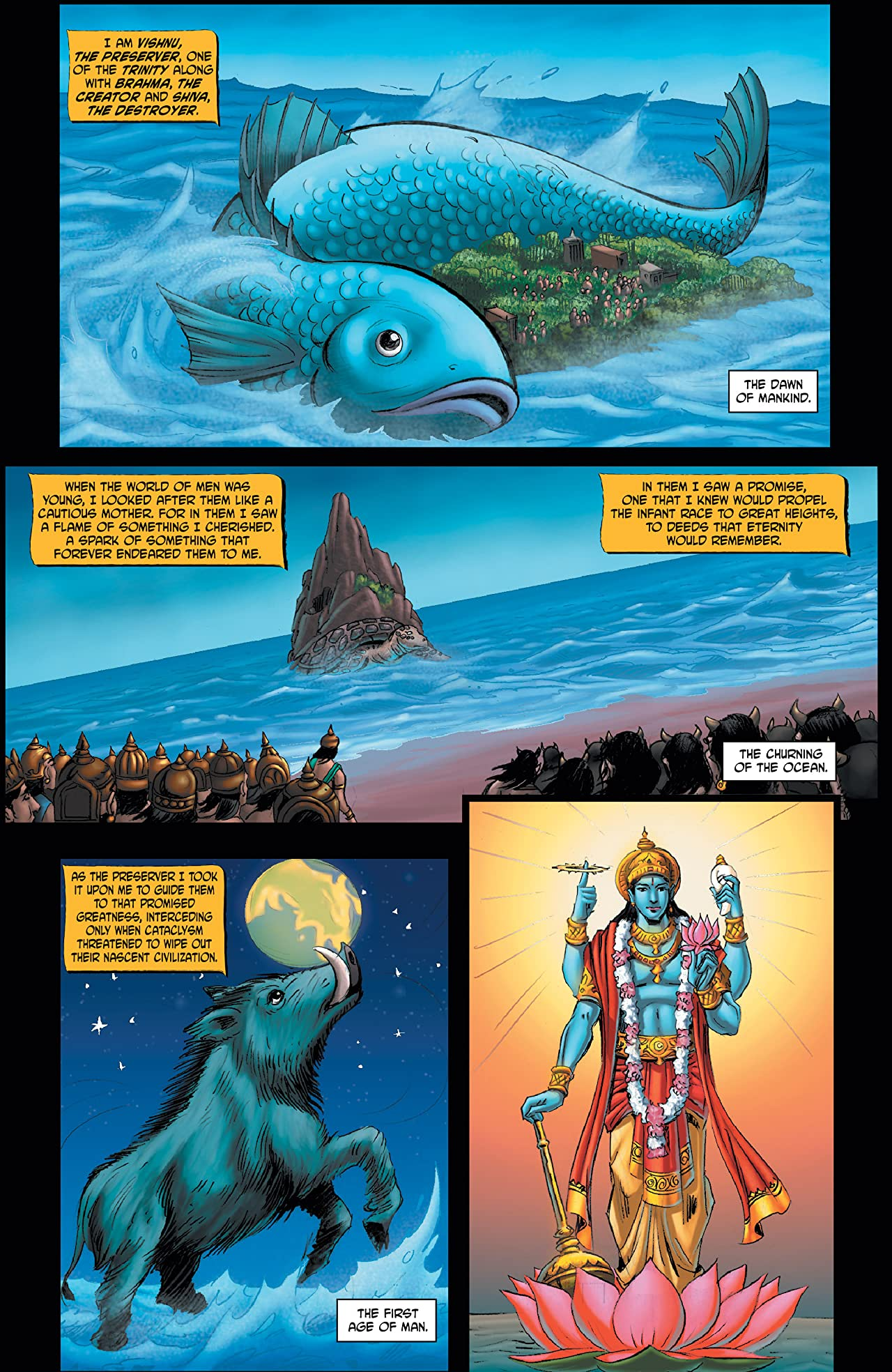 Myths of India: Vishnu